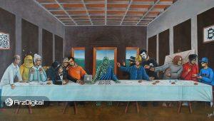 نقاشیهای دیجیتال؛ کاربرد بلاک چین در دنیای هنر