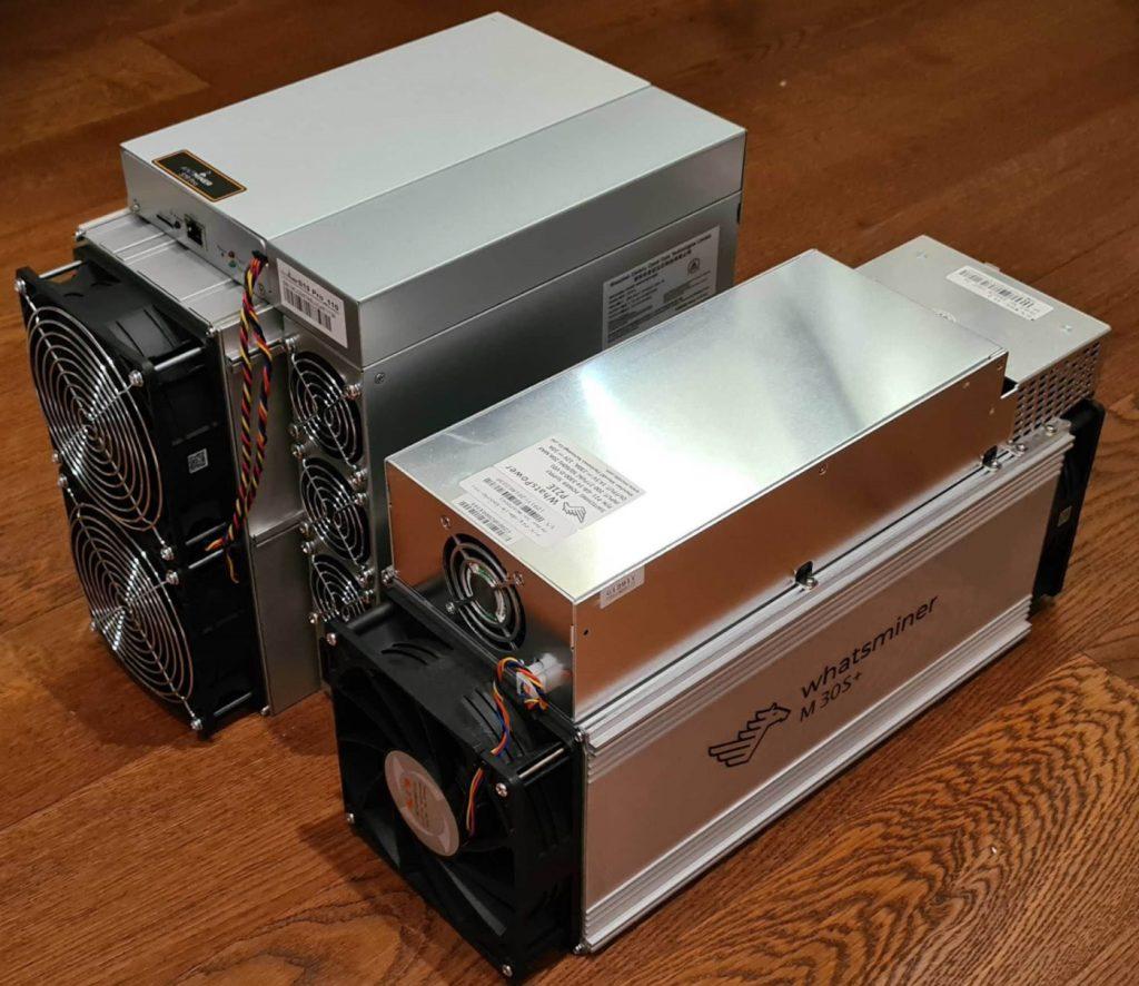 Antminer S19 Pro vs Whatsminer M30S+