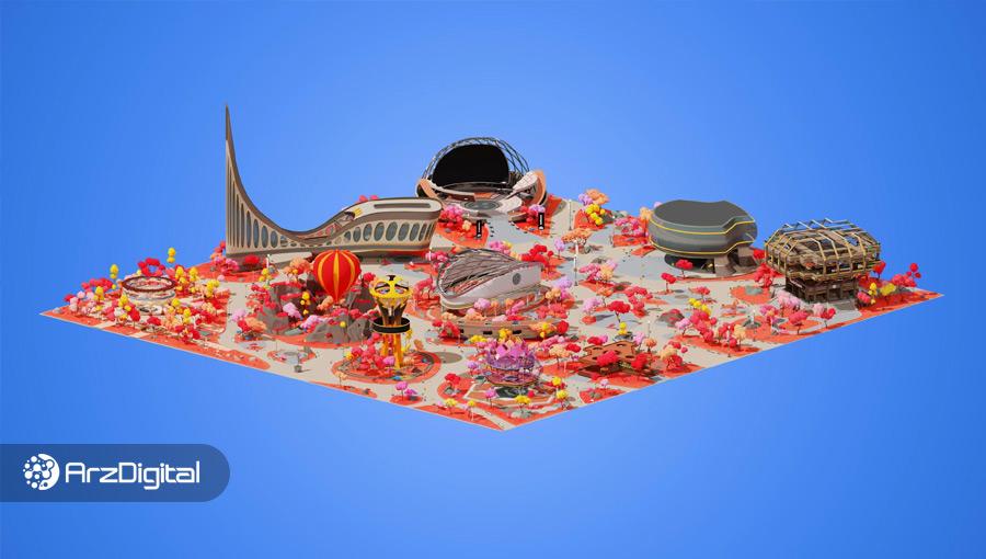یک تکه زمین مجازی در دنیای دسنترالند با قیمت ۹۱۳ هزار دلار به فروش رسید