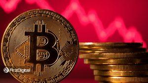 کاهش ناگهانی قیمت ارزهای دیجیتال؛ افت ۲۰۰۰ دلاری قیمت بیت کوین در عرض چند ساعت