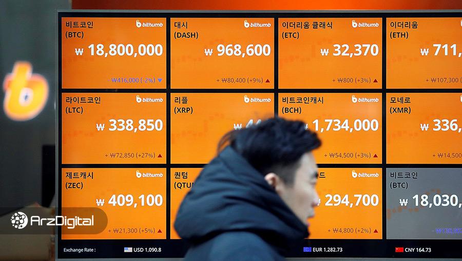 تعطیلی صرافیهای کره جنوبی ممکن است منجر به از دسترفتن ۲.۶ میلیارد دلار سرمایه شود