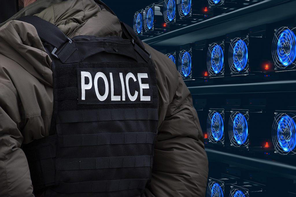 یک نفر در اداره پلیس لهستان با برق رایگان ارز دیجیتال استخراج میکرد!