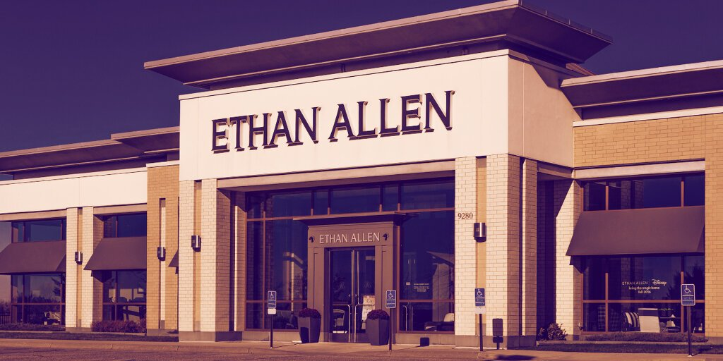 شرکت مبلمان اتان آلن نماد خود را به دلیل شباهت با اتر تغییر میدهد